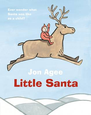 Little Santa Board Book by Jon Agee