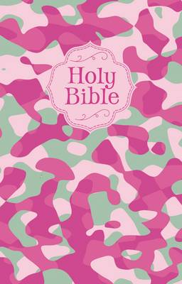 Camouflage Bible Pink, NKJV by Thomas Nelson