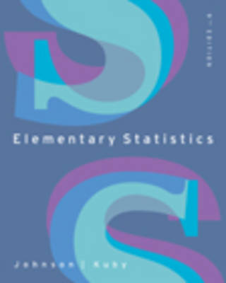 Elementary Statistics by Robert Johnson, Patricia Kuby