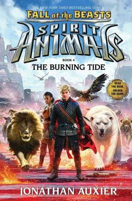 Fall of the Beasts 4: The Burning Tide by Jonathan Auxier