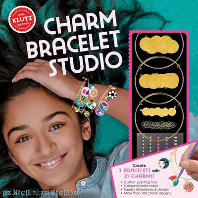 Gold Charm Bracelet Studio by Editors of Klutz