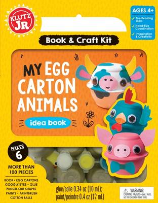 My Egg-Carton Animals by Editors of Klutz