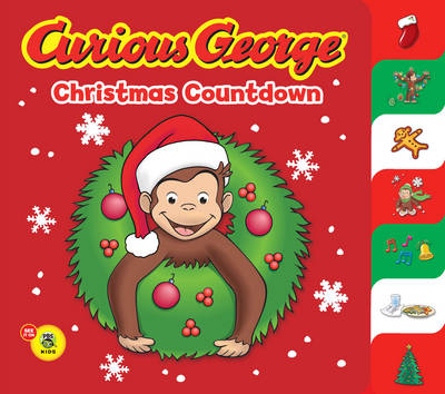 Curious George Christmas Countdown by H. A. Rey