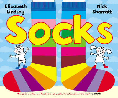 Socks by Nick Sharratt, Elizabeth Lindsay
