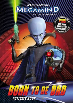 Megamind: Born to be Bad Activity Book by