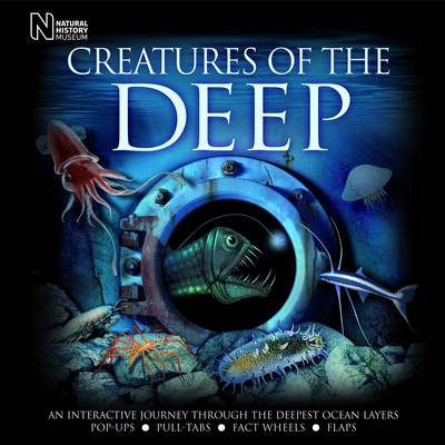 Creatures of the Deep An Interactive Journey Through the Deepest Ocean Layers by John Woodward