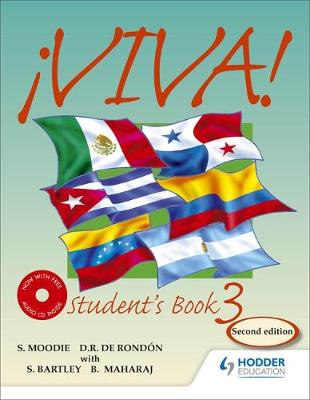 Viva Student's Book 3 with Audio CD by Sylvia Moodie, Derrunay R. Rondon, Bedoor Maharaj, Sylvia Kublalsingh