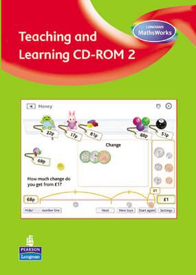 Longman MathsWorks: Year 2 Teaching and Learning CD-ROM by Tony Cotton
