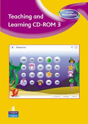 Longman MathsWorks: Year 3 Teaching and Learning CD-ROM by Tony Cotton