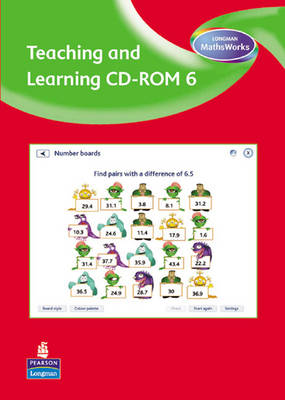 Longman MathsWorks: Year 6 Teaching and Learning CD-ROM by Tony Cotton