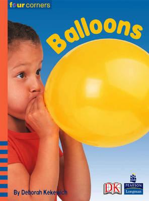 Four Corners: Balloons (Pack of Six) by Deborah Kekewich