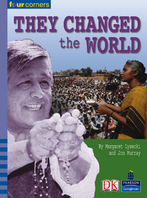 Four Corners: They Changed World (Pack of Six) by Jon Murray, Margaret Lysecki