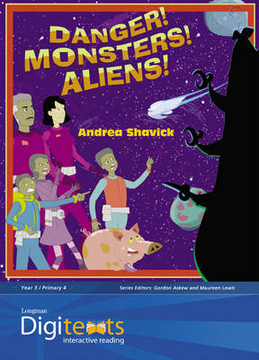 Digitexts: Danger! Monsters! Aliens!, Teacher's Book and CD-ROM by Mike Askew