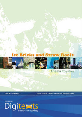 Digitexts: Ice Bricks and Straw Roofs Teachers Book and CD-ROM by Maureen Lewis, Bernice Barry, Angela Royston