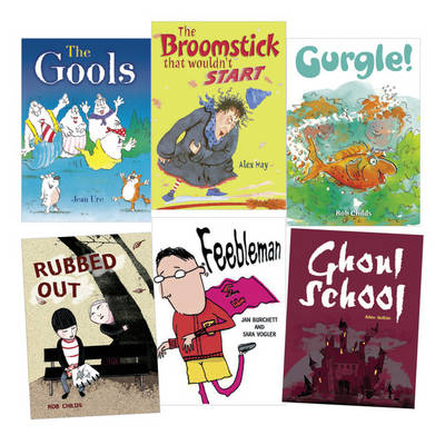 Learn at Home:Pocket Reads Year 3 Fiction Pack (6 Books) by Jean Ure, Alex Hay, Kate Simpson, Rob Childs