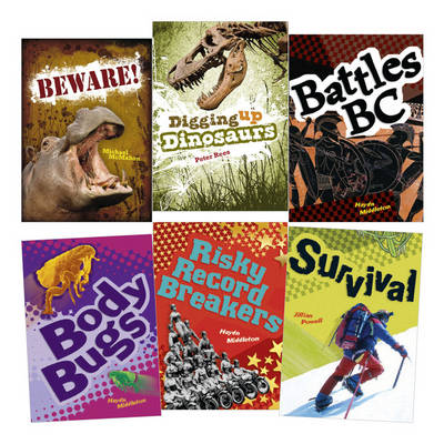 Learn at Home:Pocket Reads Year 3 Non-fiction Pack (6 books) by Haydn Middleton, Jillian Powell