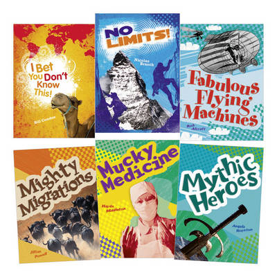 Learn at Home:Pocket Reads Year 4 Non-fiction Pack (6 Books) by Bill Condon, Angela Royston, Haydn Middleton, Jillian Powell