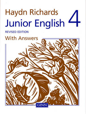 Haydn Richards Junior English Book 4 With Answers (Revised Edition) by Angela Burt