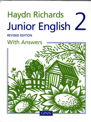 Haydn Richards Junior English Book 2 with Answers (Revised Edition) by Angela Burt