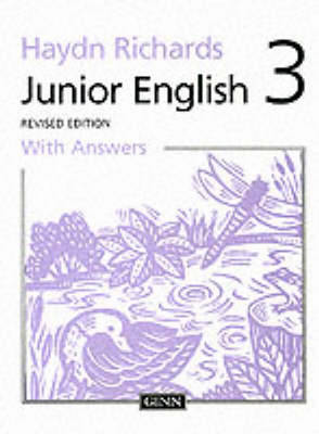 Junior English Pupil Book with Answers by