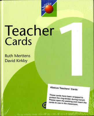 1999 Abacus Year 1 / P2: Teacher Cards by