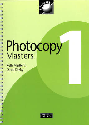1999 Abacus Year 1 / P2: Photocopy Masters by Ruth, BA, MED Merttens, Dave Kirkby