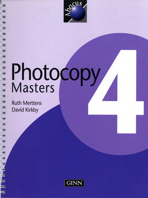 Photocopy Masters Year 4 by