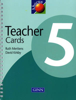 1999 Abacus Year 5 / P6: Teacher Cards by