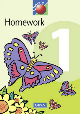 Abacus Year 1/P2: Homework Book by