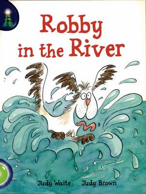 Robby in River Lighthouse Green by Judy Waite