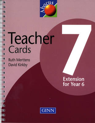 Abacus Year 7/P8: Teachers Cards by