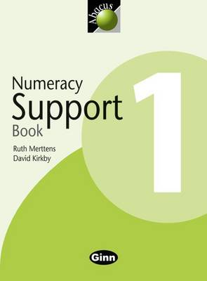 Abacus Year 1/P2: Numeracy Support Book by