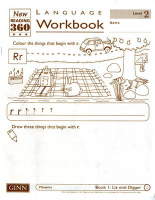 Reading 360 Language Resource Workbook 2 Pack of 8 by