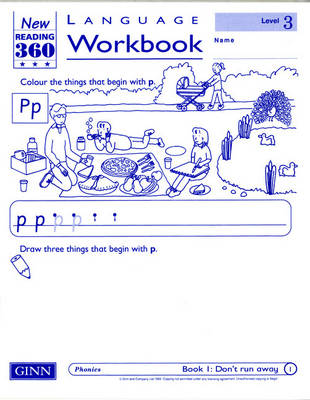 Reading 360 Language Resource Workbook 3 Pack of 8 by