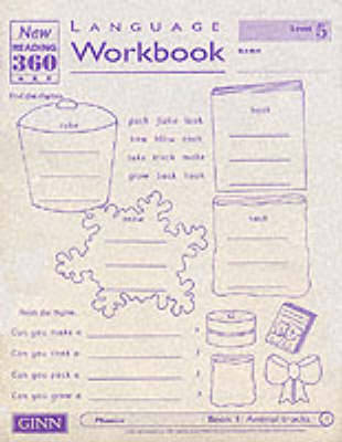 Reading 360 Language Resource Workbook 5 Pack of 8 by