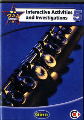 New Star Science Interactive Activities & Investigations Y5/P6 (Inc Single User Licence) by John Stringer, Roy Phipps