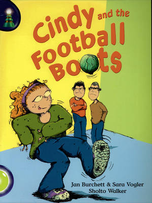 Lighthouse Lime Level: Cindy and the Football Boots Single by Jan Burchett, Sara Vogler
