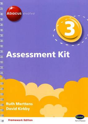 Abacus Evolve Year 3 Assessment Kit Framework by Ruth, BA, MED Merttens, Dave Kirkby, Jon Kurta