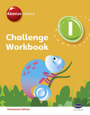 Abacus Evolve Challenge Year 1 Workbook Pack (x4 Workbooks) by Gill Potter, Cherri Moseley