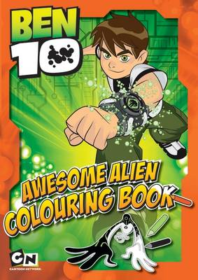 Ben10 Awesome Alien Colouring Book by