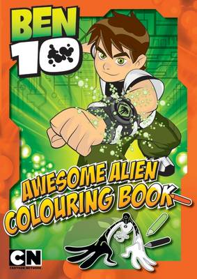 Ben 10 Amazing Action Colouring Book by