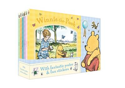 Winnie-the-Pooh Board Book Collection by Andrew Grey