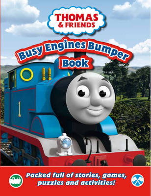 Thomas & Friends Busy Engines Bumper Book Packed Full of Stories, Games, Puzzles and Activities! by