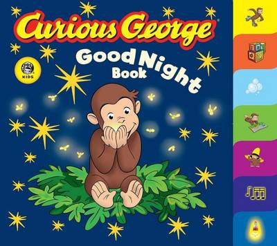 Curious George Good Night Book A Tabbed Board Book by H A Rey