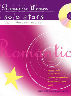 Recorder Magic Recorder Magic Romantic Themes Solo Stars 10 Favourite Themes by the Great Composers by Jane Sebba, Missak Takoushian
