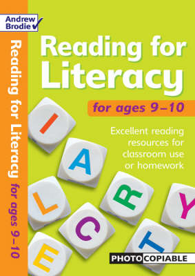 Reading for Literacy for Ages 9-10 by Andrew Brodie, Judy Richardson