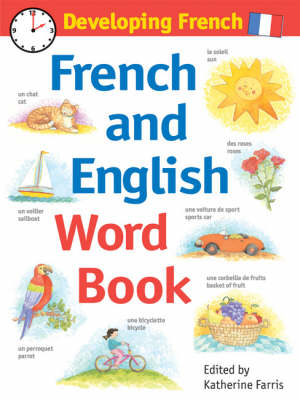 Developing French French and English Word Book by