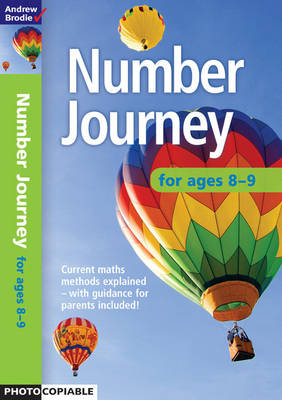 Number Journey 8-9 by Andrew Brodie