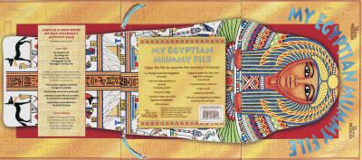 My Egyptian Mummy File by Delia Pemberton