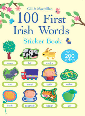 100 First Irish Words Sticker Book by Francesca Di Chiara